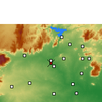 Nearby Forecast Locations - Suriyampalayam - mapa