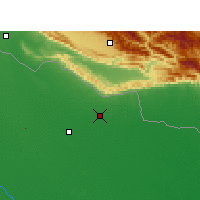 Nearby Forecast Locations - Tulsipur - mapa
