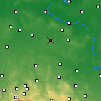 Nearby Forecast Locations - Przemków - mapa