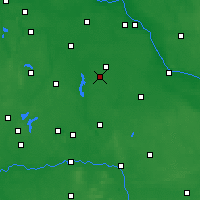 Nearby Forecast Locations - Radziejów - mapa