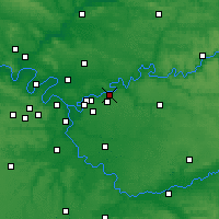 Nearby Forecast Locations - Lagny-sur-Marne - mapa