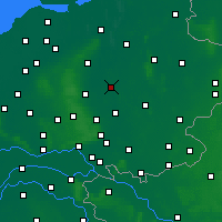 Nearby Forecast Locations - Deventer - mapa