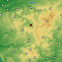 Nearby Forecast Locations - Lennestadt - mapa