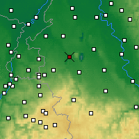 Nearby Forecast Locations - Jülich - mapa