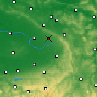 Nearby Forecast Locations - Schloß Holte-Stukenbrock - mapa