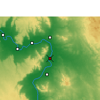 Nearby Forecast Locations - Qus - mapa