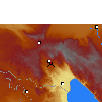 Nearby Forecast Locations - Tukuyu - mapa