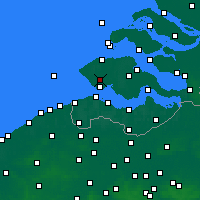 Nearby Forecast Locations - Middelburg - mapa