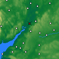 Nearby Forecast Locations - Gloucester - mapa
