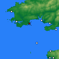 Nearby Forecast Locations - Tenby - mapa
