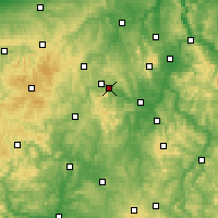 Nearby Forecast Locations - Edersee - mapa