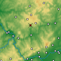 Nearby Forecast Locations - Wiesensee - mapa