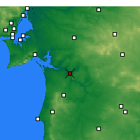 Nearby Forecast Locations - Alcácer do Sal - mapa