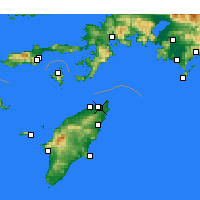 Nearby Forecast Locations - Jalisos - mapa