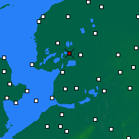 Nearby Forecast Locations - Skarsterlân - mapa