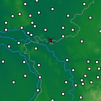 Nearby Forecast Locations - Gendringen - mapa