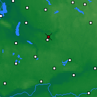 Nearby Forecast Locations - Sułowo - mapa