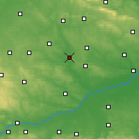 Nearby Forecast Locations - Pińczów - mapa