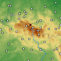 Nearby Forecast Locations - Szklarska Poręba - mapa