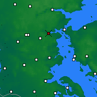 Nearby Forecast Locations - Kolding - mapa