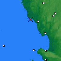Nearby Forecast Locations - Falkenberg - mapa
