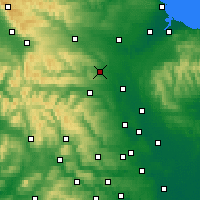 Nearby Forecast Locations - Richmondshire - mapa