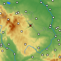 Nearby Forecast Locations - Karniów - mapa