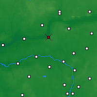 Nearby Forecast Locations - Czarnków - mapa