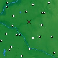 Nearby Forecast Locations - Golub-Dobrzyń - mapa