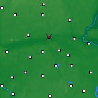 Nearby Forecast Locations - Nakło nad Notecią - mapa