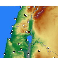 Nearby Forecast Locations - Rosz Pina - mapa