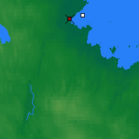 Nearby Forecast Locations - Biełomorsk - mapa
