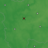 Nearby Forecast Locations - Klińce - mapa