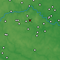 Nearby Forecast Locations - Moskowskij - mapa