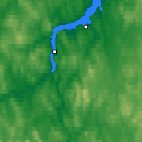Nearby Forecast Locations - Snieżnogorsk - mapa