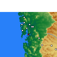 Nearby Forecast Locations - Navi Mumbai - mapa