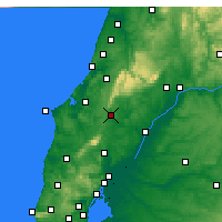Nearby Forecast Locations - Rio Maior - mapa