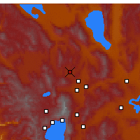 Nearby Forecast Locations - Reno - mapa